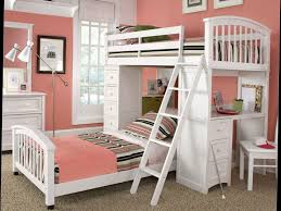 Kid Bunk Beds With Desk by Bunk Beds Bedroom Sets For Girls Cool Bunk Beds Teens