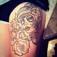 best 25 side thigh tattoos ideas on pinterest side thigh
