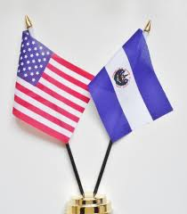 Flag Of The United States Of America United States Of America U0026 El Salvador Friendship Table Flag