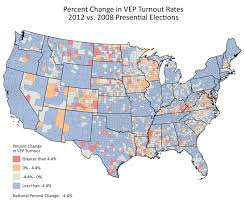 2004 Presidential Election Map by Lower Turnout In 2012 Makes The Case For Political Realignment In