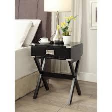 End Table Storage Altra Furniture Carver Matte Black Storage End Table 5046196pcom