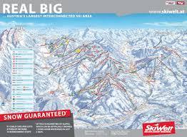Map Austria Skiwelt Austria Piste Map U2013 Free Downloadable Piste Maps