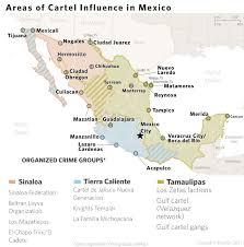 Tijuana Mexico Map A Cop U0027s Watch A Look At Mexico U0027s Drug Cartels