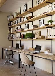bibliothèque avec bureau intégré bibliotheque bureau