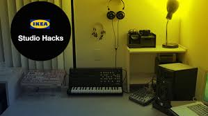 build this dream music studio with ikea hacked furniture