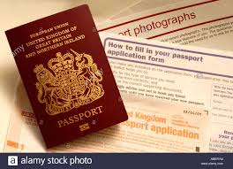 uk biometric passport border control stock photos u0026 uk biometric