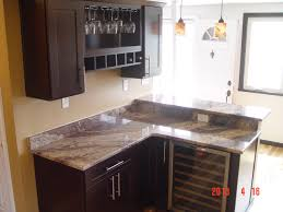 granite countertop oak pantry cabinets kitchen diy stove
