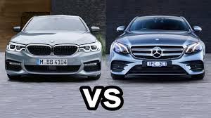 cars comparable to bmw 5 series 2017 bmw 5 series vs 2017 mercedes e class