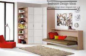 3 small bedroom designs with drop down beds