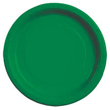paper plates bulk green paper party plates 9 20 ct packs at dollartree