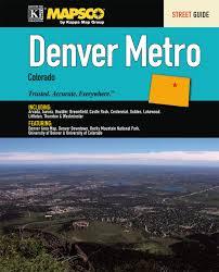 Littleton Zip Code Map by Denver Co Metro Street Guide Universal Map Group 9780762572632