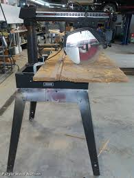 Craftsman Radial Arm Saw Table Sears Craftsman Radial Arm Saw Item Da0617 Sold April 2