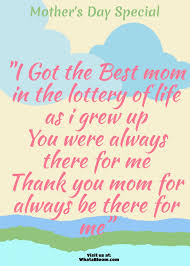 mothers day quotes like success