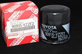 amazon com toyota genuine parts 90915 yzzf2 oil filter 1 2 case