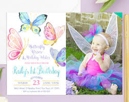 butterfly birthday etsy