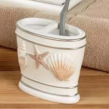 Beach Themed Bathroom Accessories by Cape Cod Coastal Seashell Bath Accessories