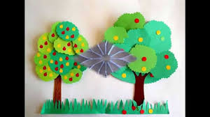 easy and simple diy construction paper crafts for kids youtube