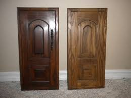 Kitchen Cabinet Door Finishes by Decorating Cool Cabinets Door With General Finishes Java Gel
