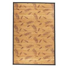 Bamboo Area Rugs 16 Bamboo Rug 4x6 Esk 624 Blue Mirage Shale Trixie Natura A