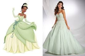 wedding dress inspiration fit disney princess tying