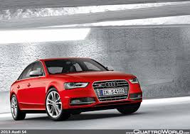 the new audi a4 and the new audi s4 quattroworld