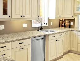 Kitchen Cabinets And Hardware Kitchen Cabinets Painted Linen Bisque Like This For The Farm