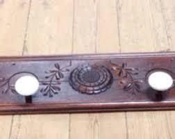glass door knob coat rack antique doorknob etsy