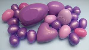 learn colours with surprise eggs purple youtube