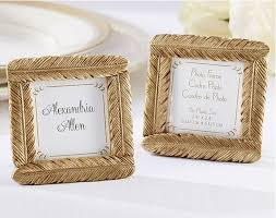 picture frame wedding favors aliexpress buy 100pcs lot resin gold feather frame baby