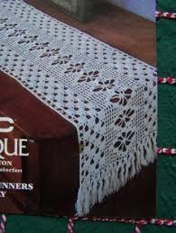 Crochet Table Runner Pattern Pineapple Crochet Table Runner