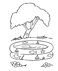 summer coloring book pages many interesting cliparts