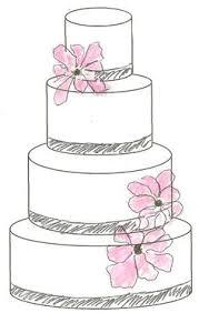 wedding cake drawing cake design sketches and cake