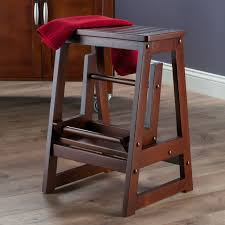 Wooden Step Stool Plans Free by Winsome 2 Step Wood Step Stool With 200 Lb Load Capacity