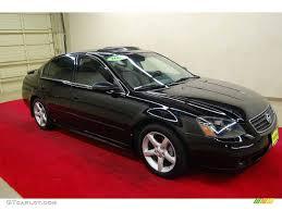 Nissan Altima Black - 2005 super black nissan altima 3 5 se 66437842 gtcarlot com