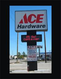 Ace Hardware Locations Houston Tx Pole Signs U2014 Atlas Signs Services Inc