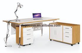 Office Executive Desk Guoxun Project Modern White Office Executive Desk With Frame Mfc