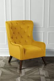 Yellow Arm Chair Design Ideas Cha177 Dorchester Velvet Armchair Yellow Magazinemonday Home In