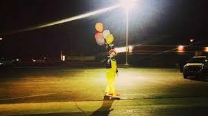 spirit halloween modesto ca creepy clowns started as halloween stunt in wasco abc7 com