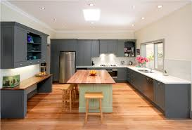 Recessed Kitchen Cabinets Kitchen Design Kitchen Remodel With Two Colors Kitchen Cabinet