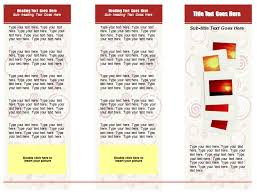 10 best images of create tri fold brochure template word 2007