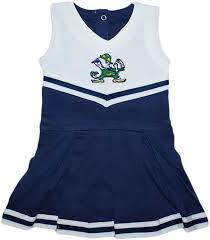 Notre Dame Infant Clothes Amazon Com Notre Dame University Fighting Irish Cheerleader