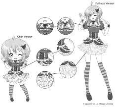 drawing chibi characters manga university cus store