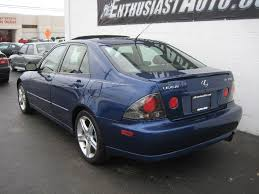 lexus is300 blue pre owned miscellaneous for sale for sale at enthusiast auto