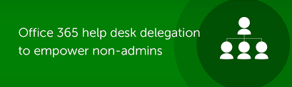 Office 365 Help Desk Office 365 Help Desk Delegation With O365 Manager Plus