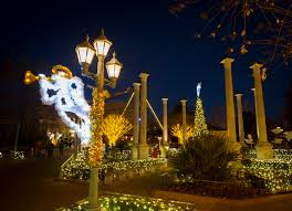 Christmas Town Decorations Monday Is The Last Day To Buy 15 Tickets To Busch Gardens