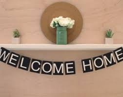 welcome home decorations welcome home banner printable black gold welcome banner