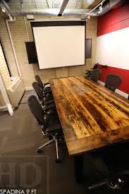 reclaimed wood conference tables toronto ontario 6 blog