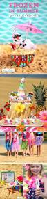 disney frozen summer birthday party ideas luau party