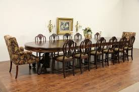 sold victorian antique 1865 round walnut dining table 7 leaves