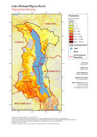 Malawi Map Lake Basin Action Network Maps